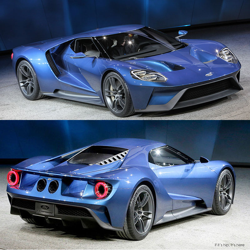 Ford Gt Debut At  Naias