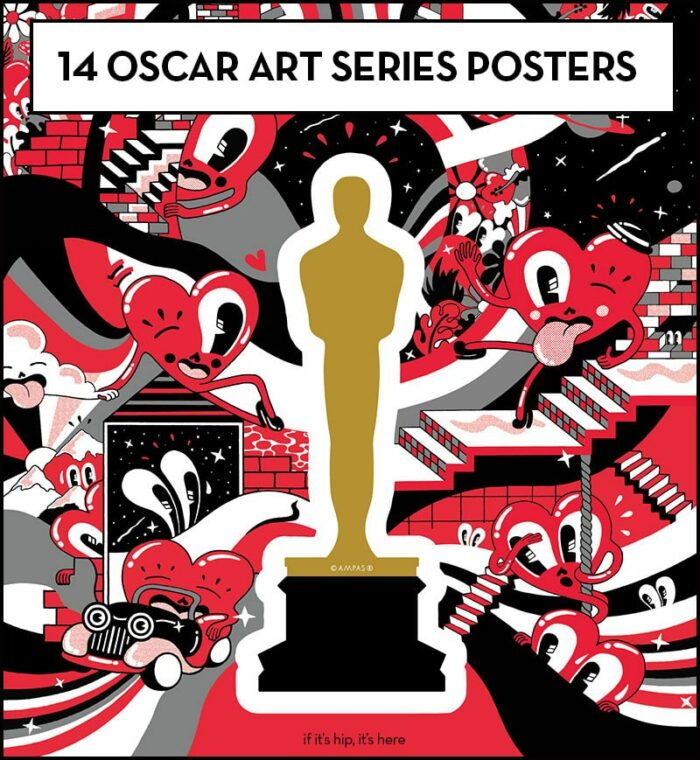 Oscars Art Series Posters