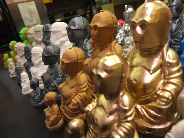 chris mucky 3d pop culture buddhas