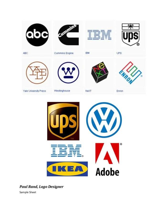 Paul Rand logos