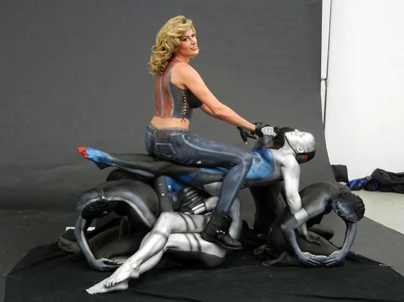 Useful phrase motorcycle body painting has