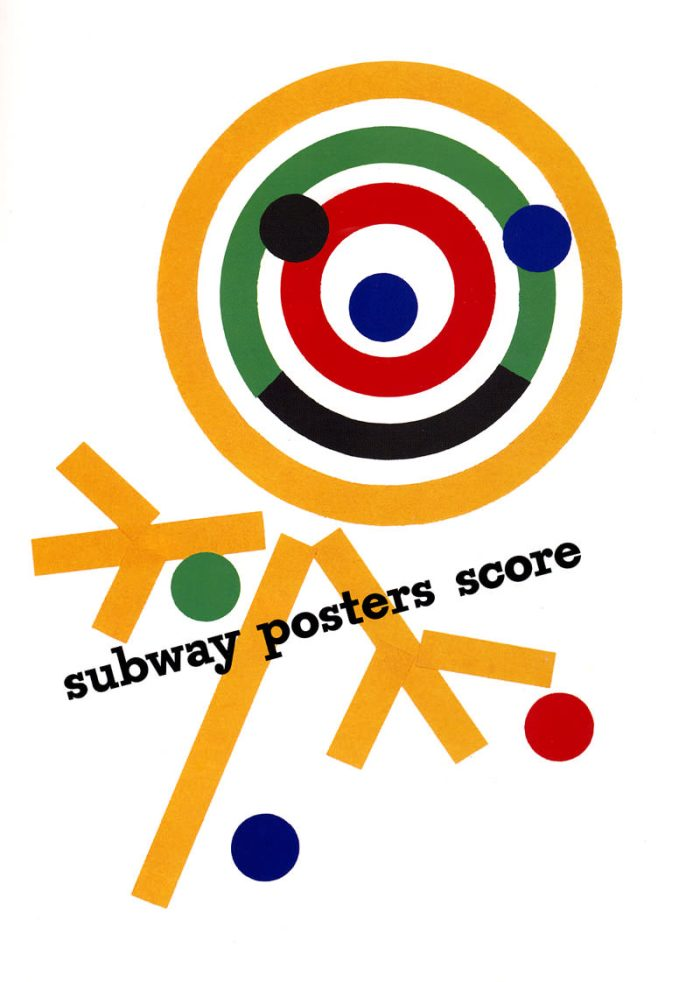 subway poster by Paul Rand