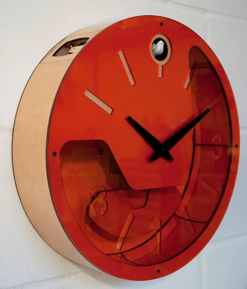 Pedro mealha makes marvelous modern cuckoo clocks if it 39 s hip it 39 s here - Contemporary cuckoo clock ...