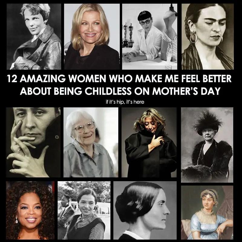 famous childless women