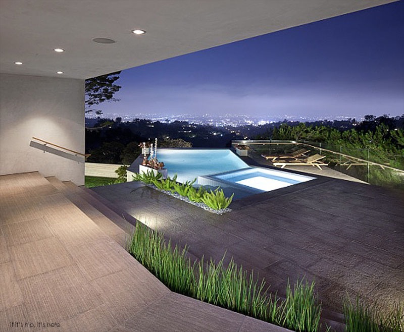 Wonderful The 3,500 Sq Ft Residence, Near The Apex Of Beachwood Canyon, Sits Just  Under The Shadow Of The Hollywood Sign. The More Public U201clivingu201d Areas Of  The House ... Design