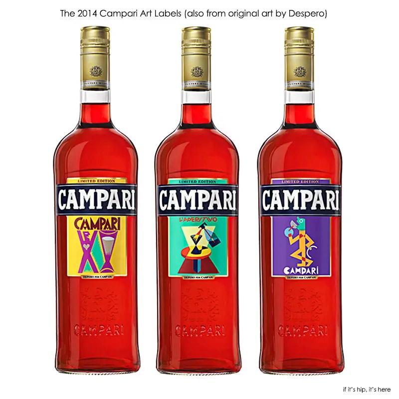 2014 Despero Bottle labels for campari IIHIH