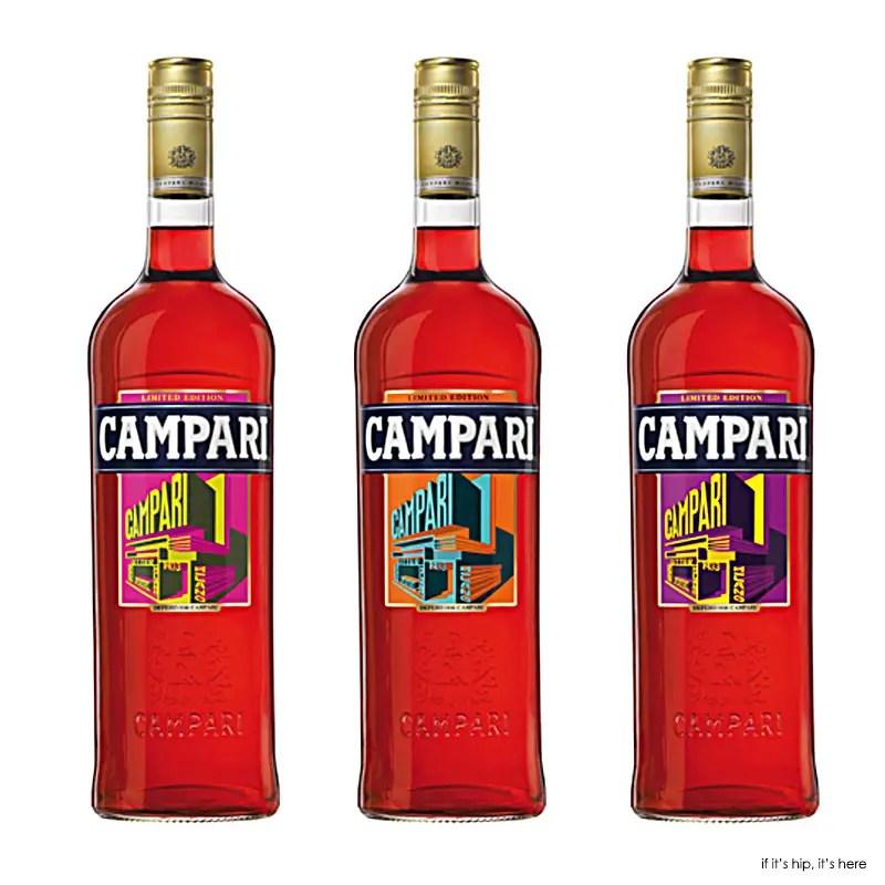 2015 Campari Art Labels by Despero on bottles IIHIH