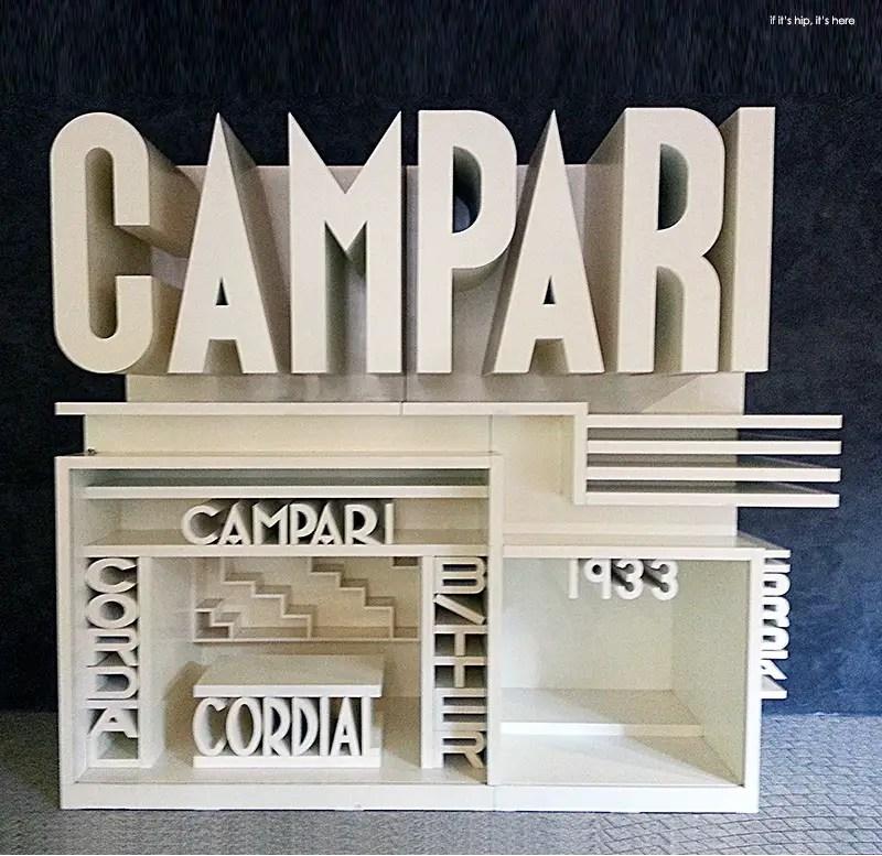 Campari pavilion model IIHIH