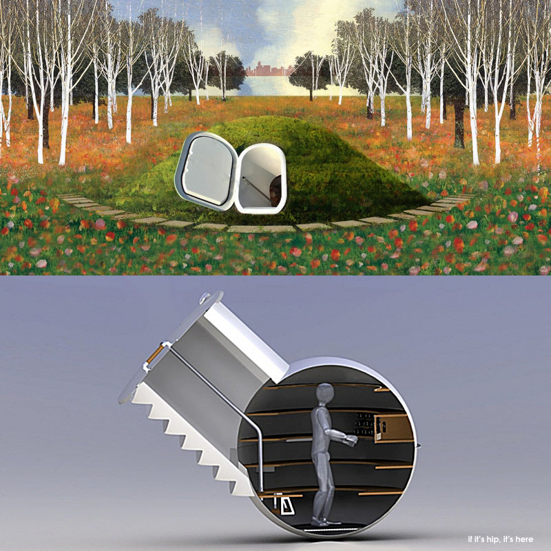 The Groundfridge Is A Pre Fab Underground Cellar That