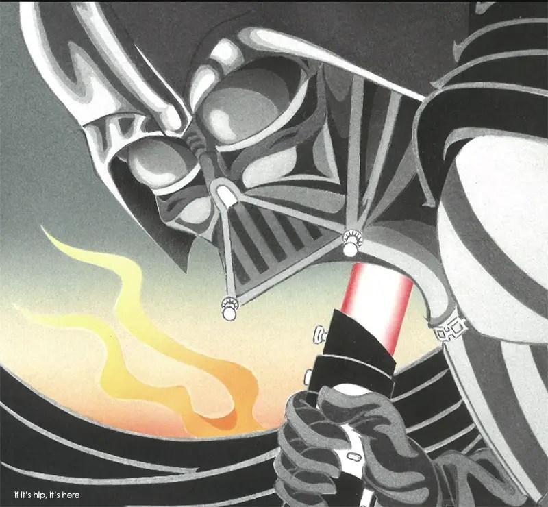Star Wars Japanese Woodblock Prints