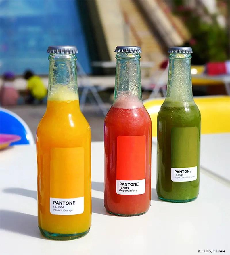 bottled pantone sodas IIHIH