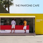 A Pantone Cafe Pops Up In Monaco