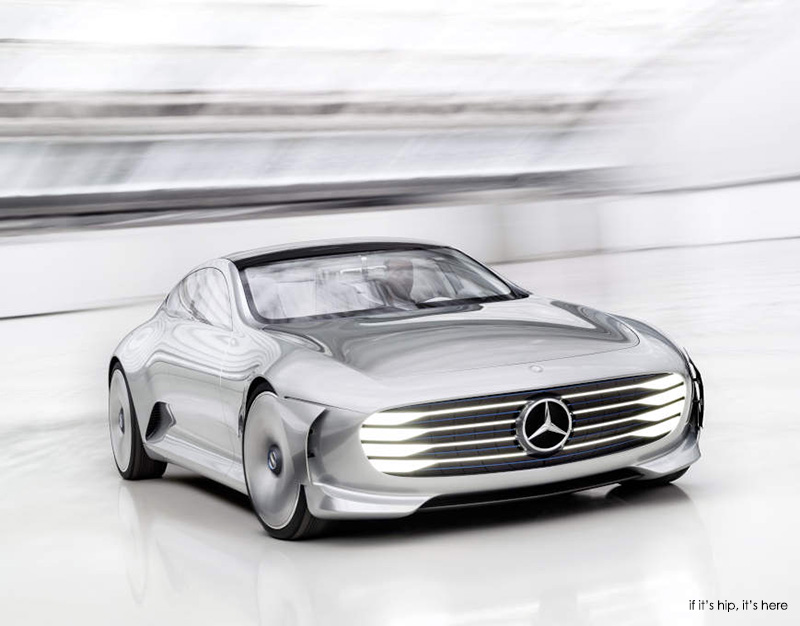 Intelligent Aerodynamic Automobile Concept by Mercedes-Benz