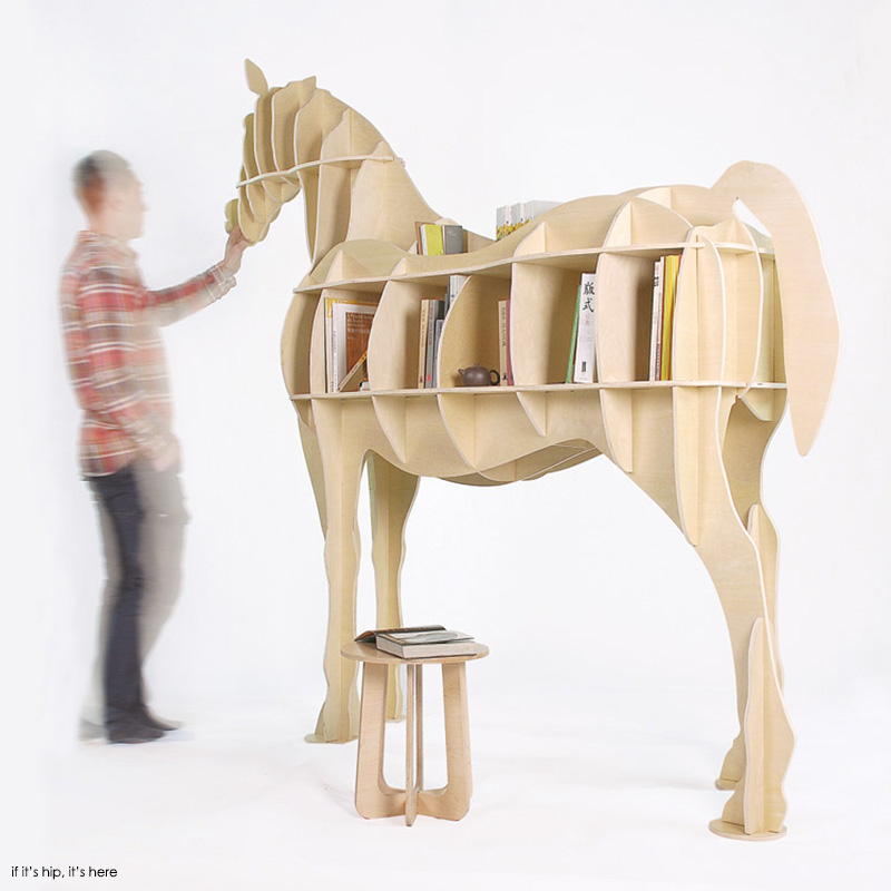 Awesome Animal Furniture. Horse Shelving2 IIHIH