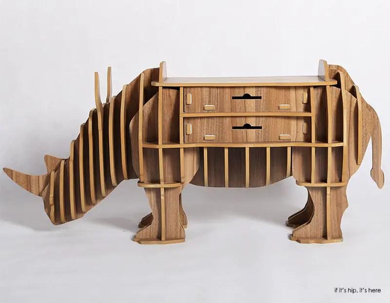 Rhino with drawers