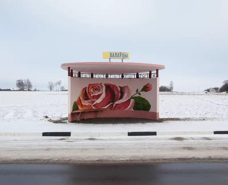 Alexandra Soldatova Belarus bus stops