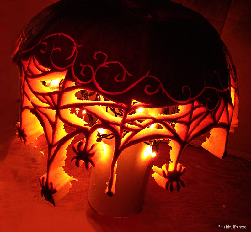 2014 TIFFANY SHADE pumpkin by karyn poplin
