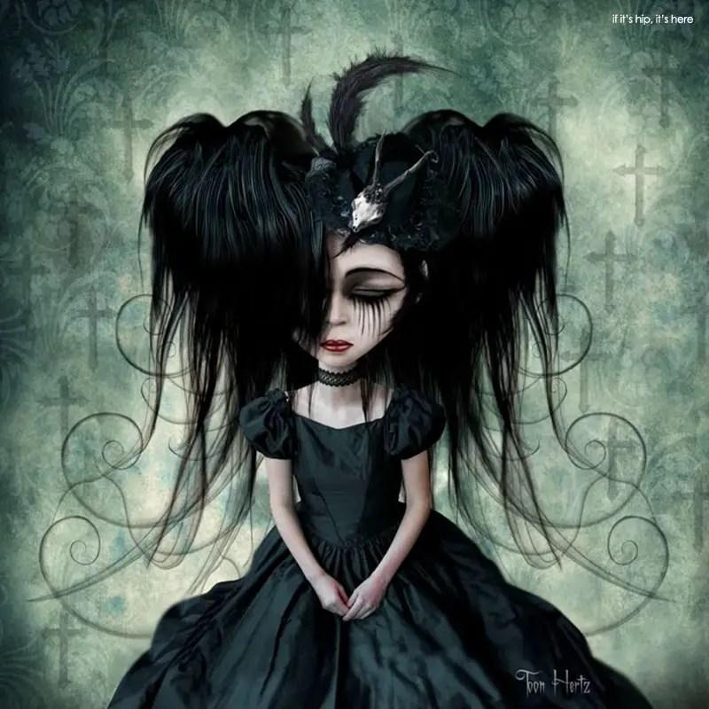 the gothic art of toon hertz