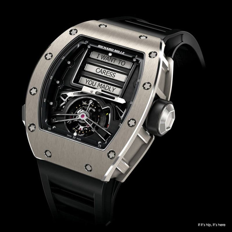 erotic 69 tourbillon watch