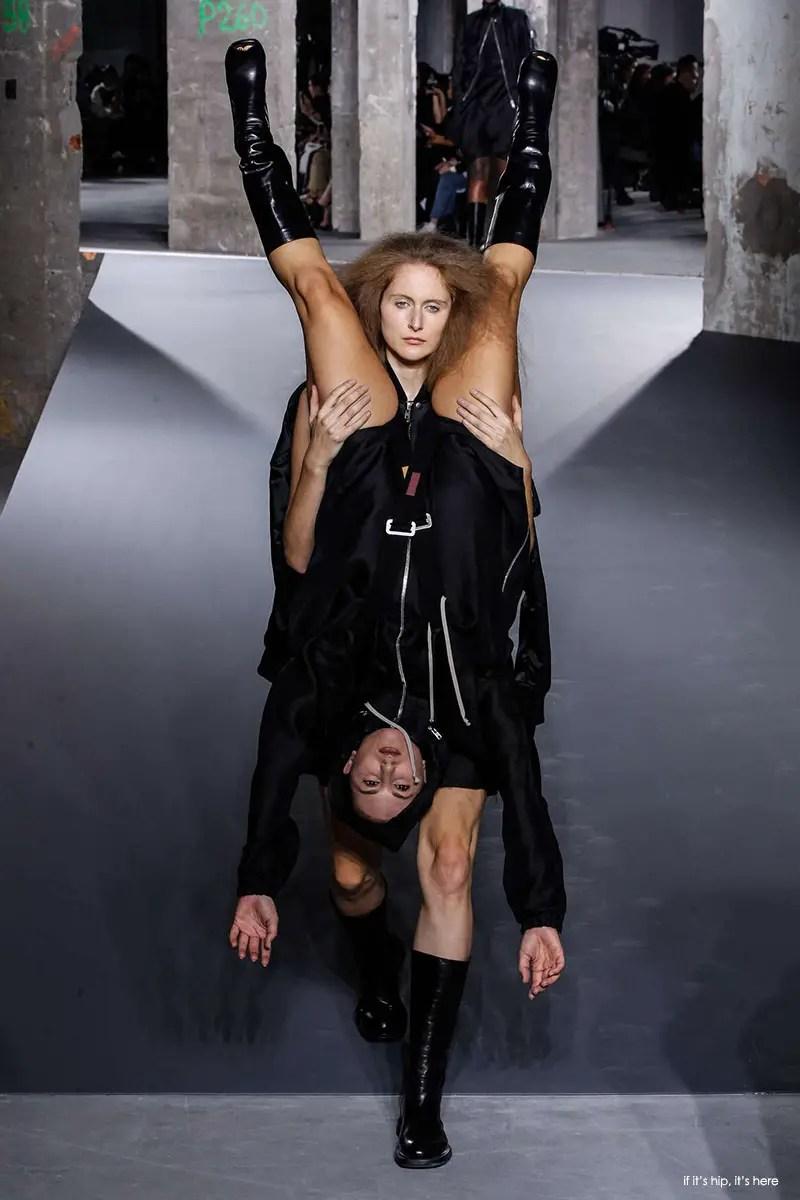 strange fashion show