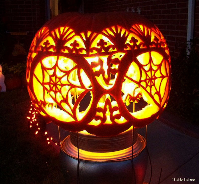 Karyn Poplin Pumpkins