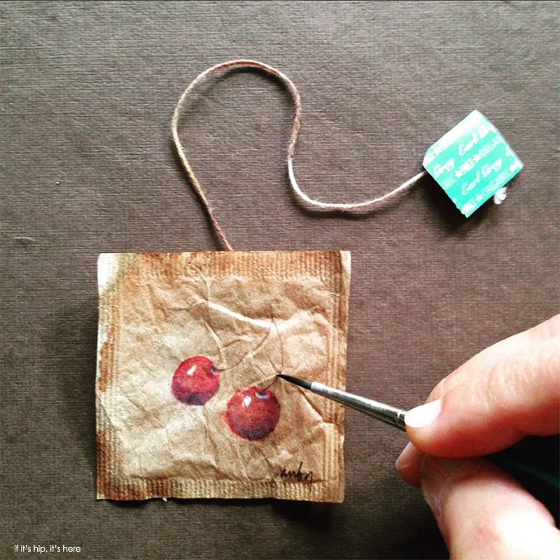 tiny watercolor paintings