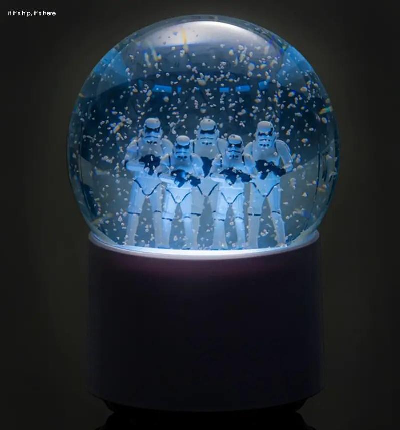 New Star Wars Wireless Snow Globe Speakers If It S Hip
