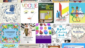 The Coolest Coloring Books For Grown Ups Part V