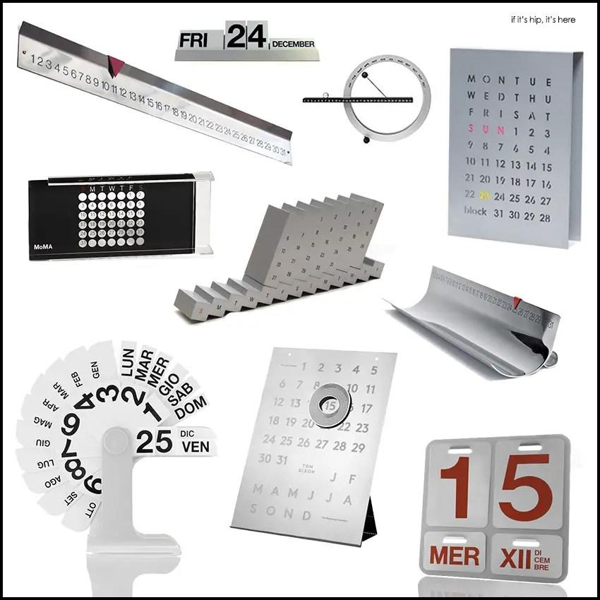 designer perpetual calendars