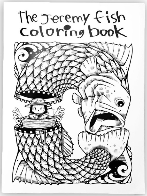 Jeremy Fish Coloring Book