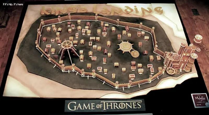 Game Of Thrones Kings Landing Ginger Bread IIHIH