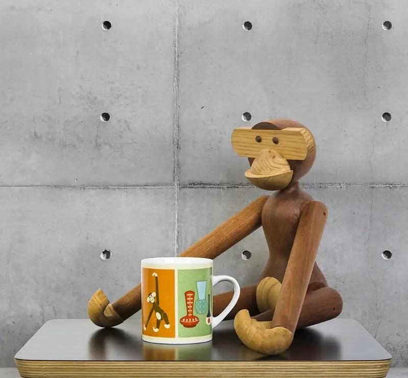 Modern+Home+Kay Bojesen Monkey+Mug