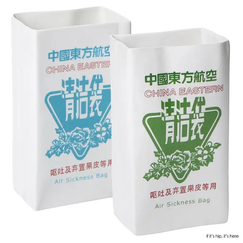 china eastern porcelain barf bags 2