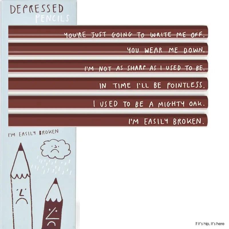 depressed pencils cu IIHIH