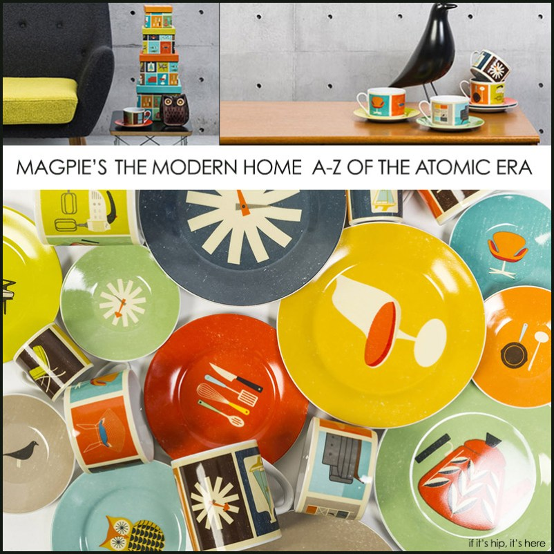 modern home collection with title