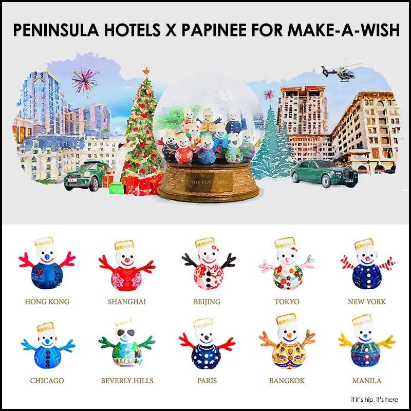 peninsula hotels x papinee for make-a-wish