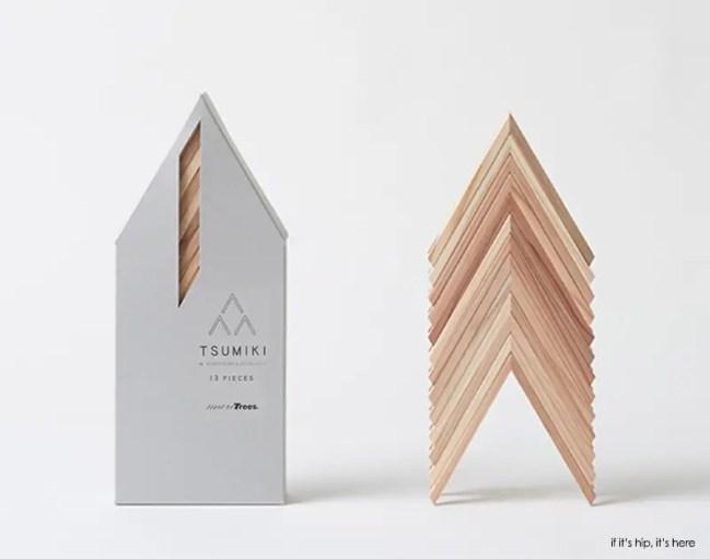 tsumiki blocks 13 piece set IIHIH