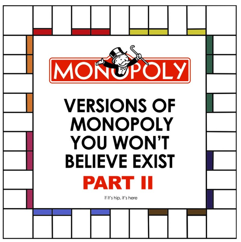 versions of monopoly part II