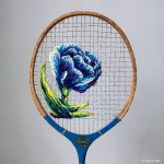 Danielle Clough Serves Up Some Unusual Embroidery