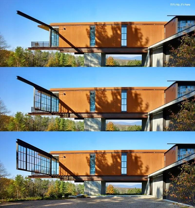 OK Berkshire Residence sliding window wall trio