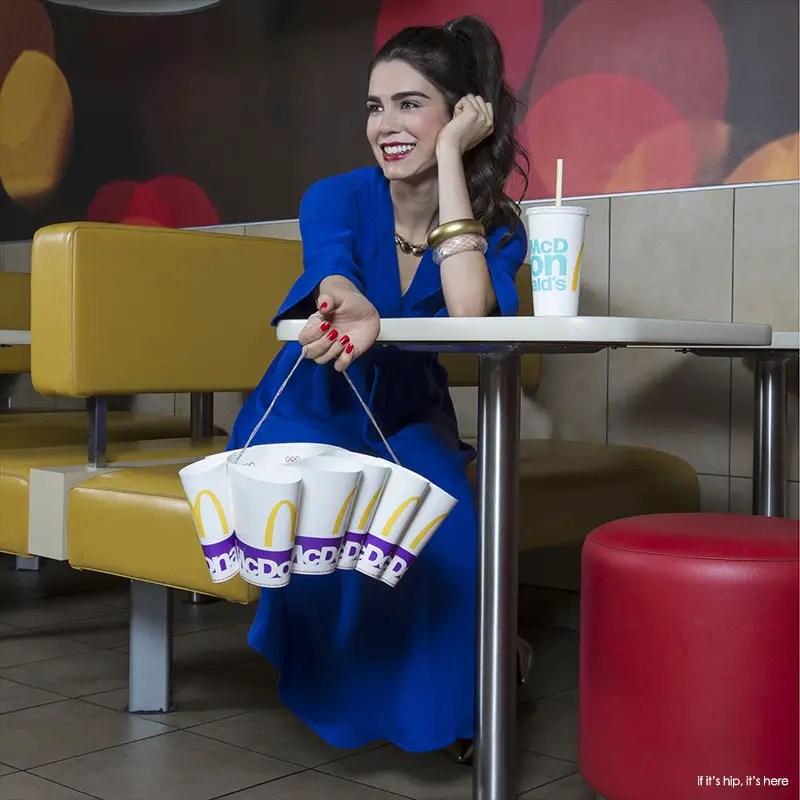 mcdonalds cup purse