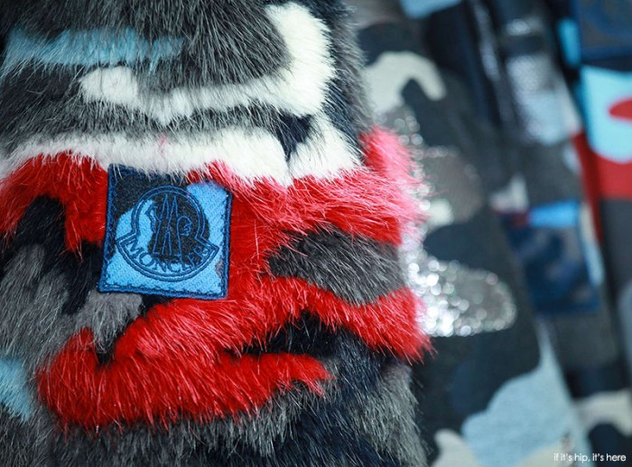 moncler textile detail