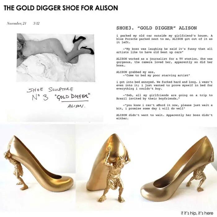 Gold Digger shoe for Alison