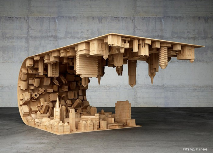 coffee table inspired by Inception