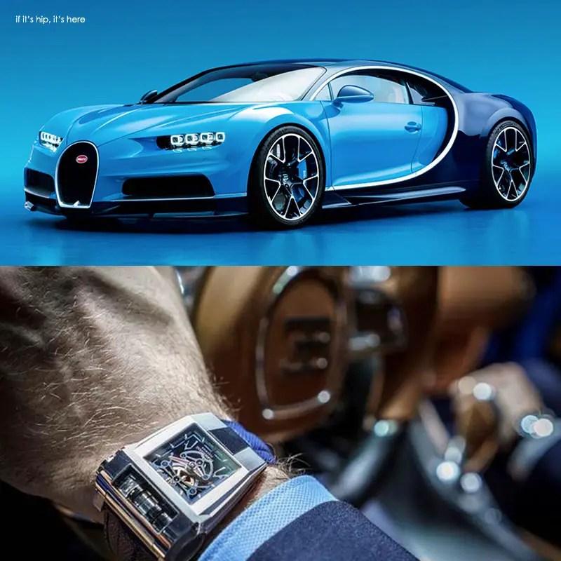 PF Bugatti 390 Concept Watch