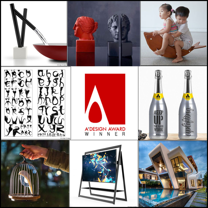 2015-2016 A' DESIGN COMPETITION WINNERS