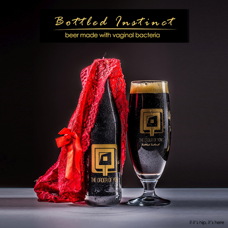 Bottled Instinct Vaginal Beer