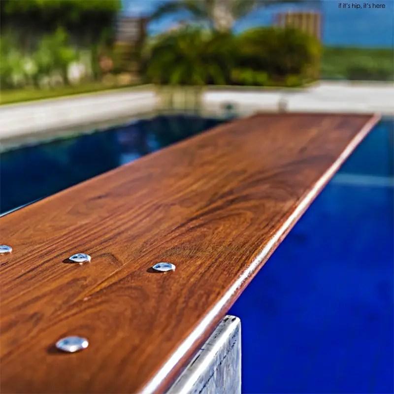 Custom Wood Diving Boards IIHIH