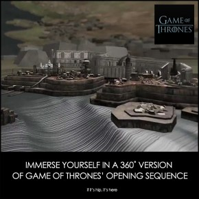Winter Is Coming. Game Of Thrones 360˚ Immersive Experience .