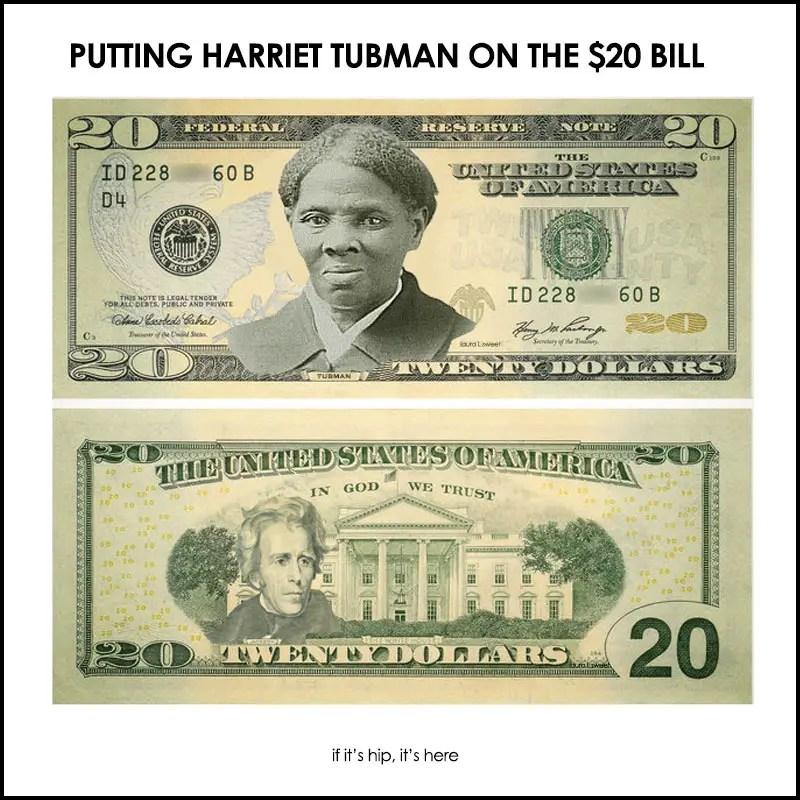 Harriet Tubman $20 Dollar Bill